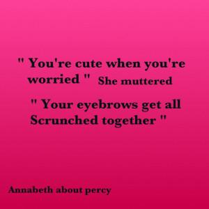 Percy and Annabeth - the last Olympian