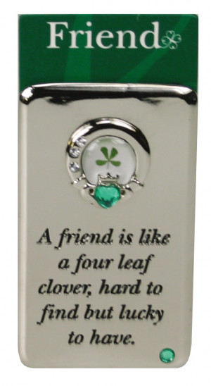 Little Irish Luck- Friend, Claddagh