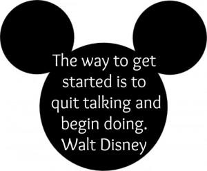 Motivational Quote - Walt Disney