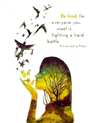 Plato. Unknown Artist. Quote added to art by sacred flow.: Life Quotes ...