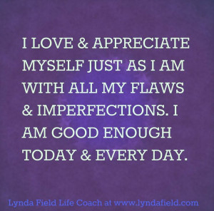 am good enough today and every day... quotes for inspiration by ...