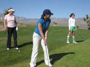 Las Vegas Paiute Golf Resort offers special events for women golfers.