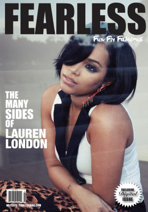 Lauren London rocks new short hairstyle