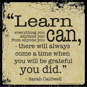 Lifelong Learning Quotes Quot Learn Everything You Can