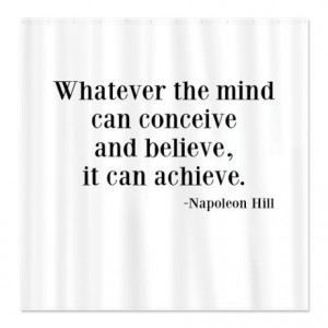 Napoleon hill, quotes, sayings, mind, believe, achieve