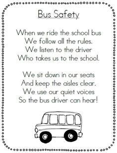 SCHOOL BUS SAFETY PACK - TeachersPayTeachers.com