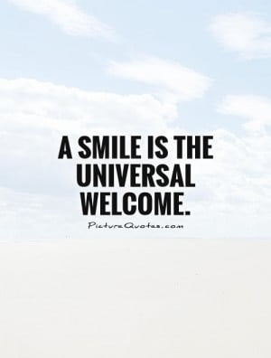 Welcome Quotes and Sayings
