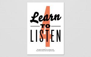 Learn to Listen / January Filek