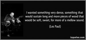 More Les Paul Quotes