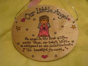 childrens memorial plaques amp baby memorials