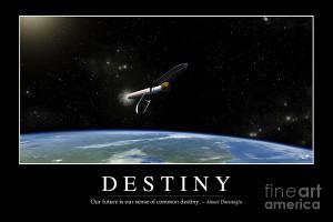 Destiny Inspirational Quote Digital Art