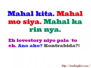 Sad Love Quotes , Simpleng Patama and More Love Quotes in Tagalog .