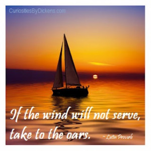 Take to the oars…