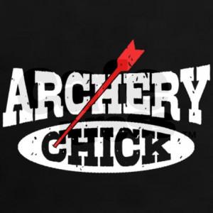 archery_chick_womens_dark_tshirt.jpg?color=Black&height=460&width=460 ...