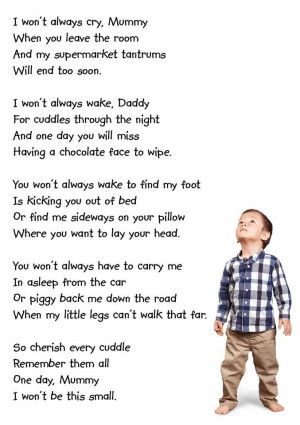 If you know where this poem came from, please do share so we can give ...