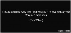 Every day I think, 'Gosh, I wish I could be like George Carlin, Bill ...
