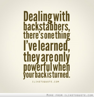 Backstabber Family Quotes Backstabber family quotes