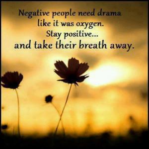 So true! Always stay positive! :)