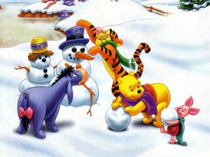 Christmas Winnie The Pooh Christmas. Baby First Christmas Sayings ...