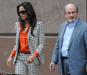 Together again: Salman Rushdie and Padma Lakshmi attend Christopher ...