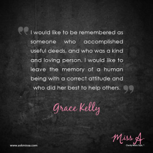 grace kelly quotes
