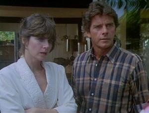 Karen Harmon (Marcia Strassman) & Dr. Brighton (Peter Brown)