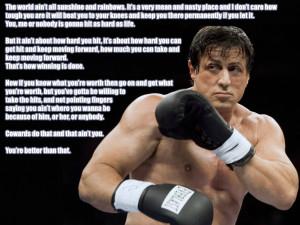 Rocky Balboa Quotes HD Wallpaper 3