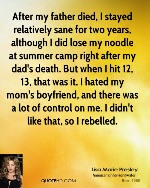 quotes about my father s death my father father died