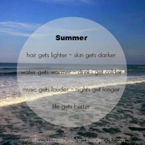 Can't Wait for Summer Because...