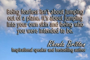 Favourite Quotes: Being Fearless