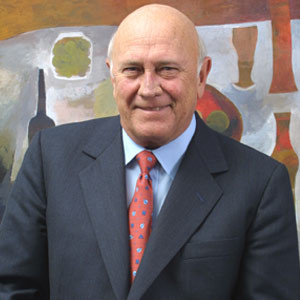 FW de Klerk speaks out about his cancer experience