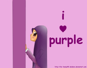 Love Purple I love purple by far-honey95-