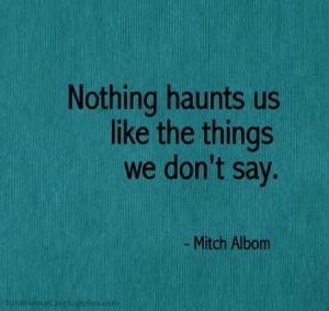 Mitch Albom #quotes