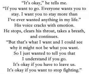 yafictionquotes:Gayle Forman, If I Stay
