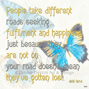 Bella Butterfly 2 Inspirational quote 12x12 by DebbieDeWitt, $72.00
