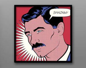 Shazam! // Lichtenstein Inspired Archer Quote and Geek Print ...