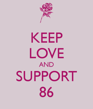 Keep Love And Support