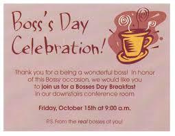 boss s day celebration