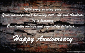 Wedding anniversary quote for parents