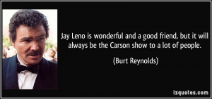 Jay Leno Wonderful And Good