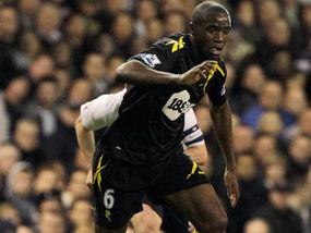Fabrice Muamba in full stride at Tottenham on Saturday – but tragedy ...