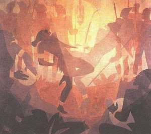 ... Aaron Douglas, one of the major figures of the Harlem Renaissance
