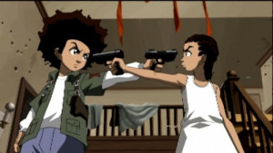 Huey and Riley's homage to The Killer .
