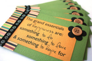 Busy Bee - Quote cards