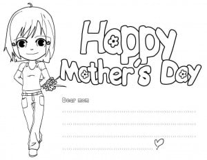 happy mothers day coloring pages happy mothers day coloring pages