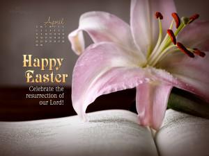 April 2012 - Happy Easter Wallpaper