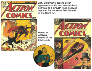 "... said, ""Donenfeld ordered Superman splashed all over the cover of"