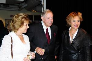 Le très honorable Jacques Parizeau en compagnie de sa femme Lisette ...