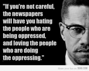 Malcolm X...Radical, just like Obama.