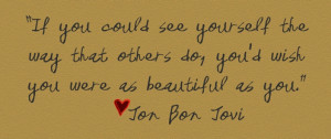 jon bon jovie quote, cgdickson the blog
